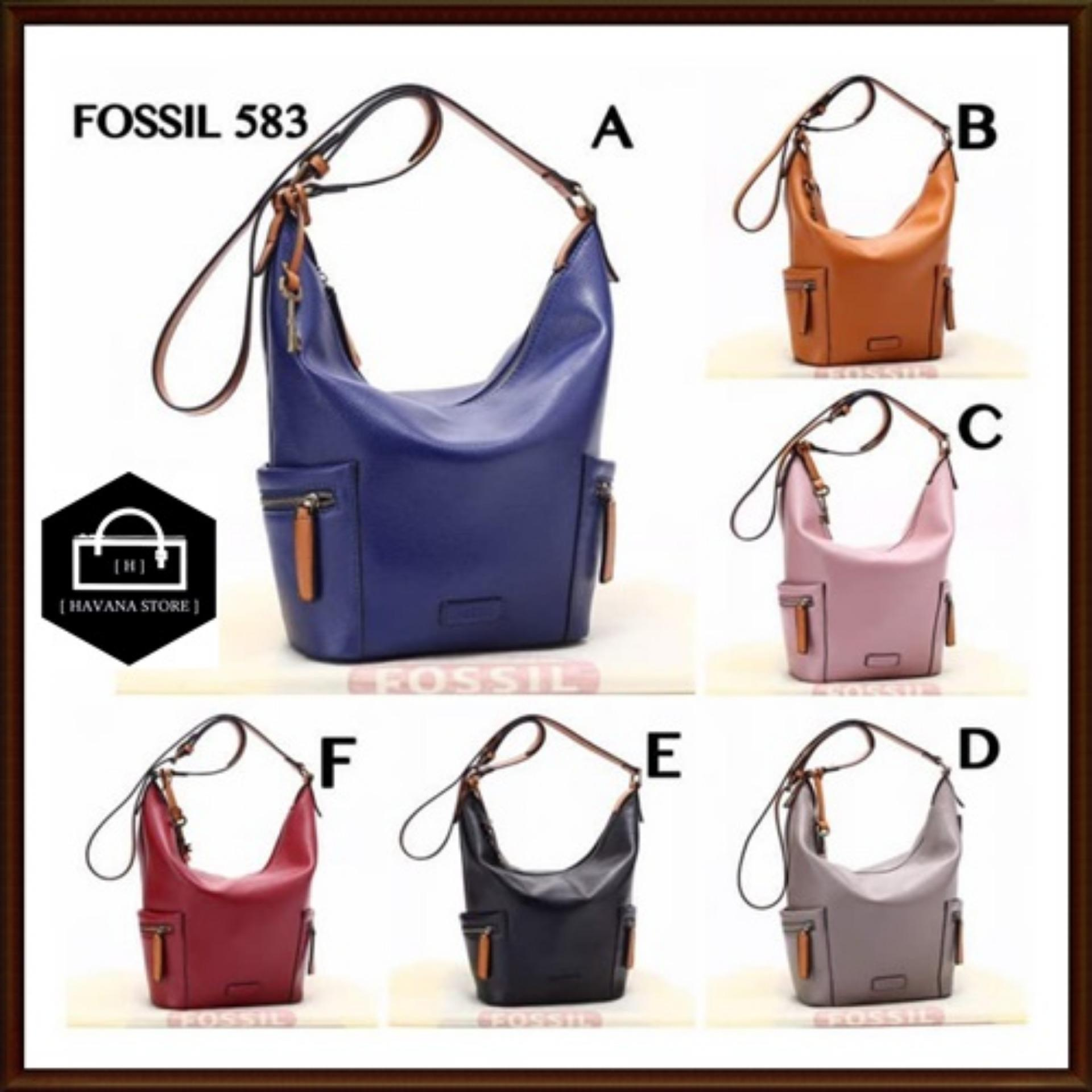 Buy Sell Cheapest Fossil Emerson Hobo Best Quality Product Deals Satchel In Seaglass Tas Togo Semi Premium 583 A165 Bag Branded Mirror