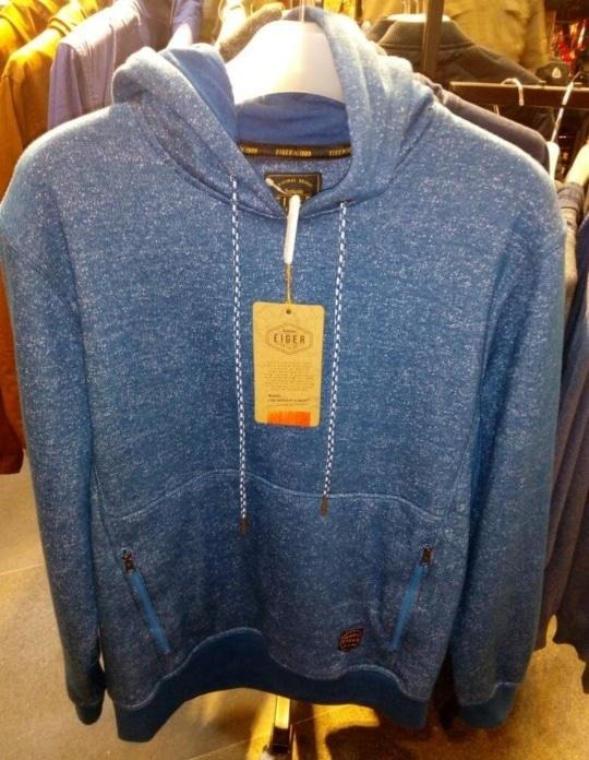 Diskon 10%!! SWEATER EIGER NIGHT SPARKLE 1989 ORIGINAL - ready stock