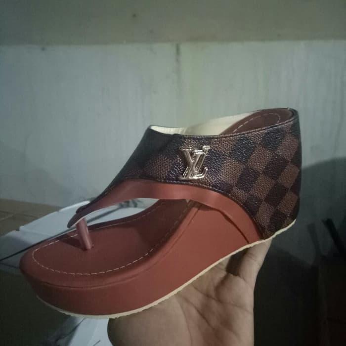 Zeeta Fashion sandal Wedges wanita LV NS 68