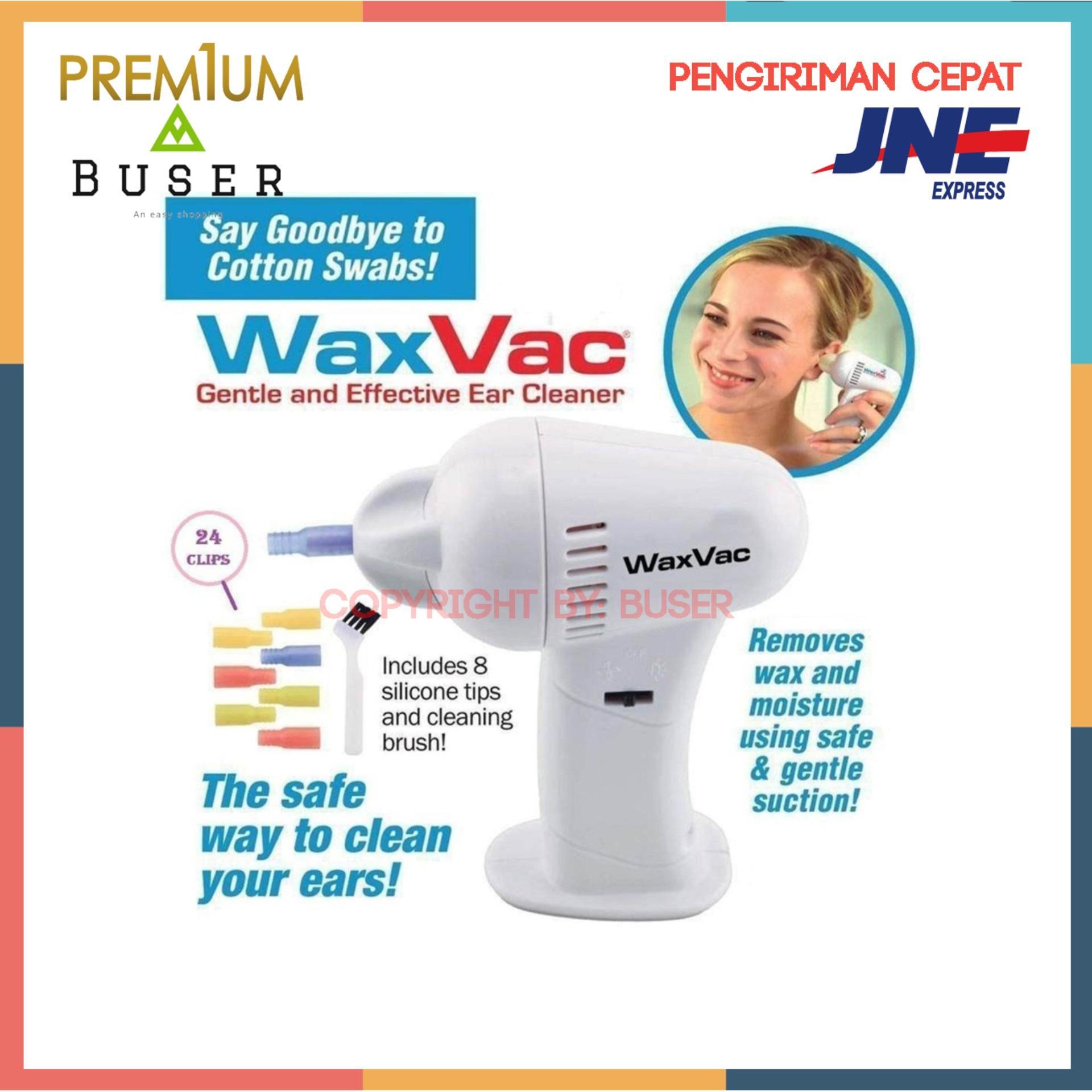 Wax Vac Electric Ear Wax Vacuum Vac Wax Removal / Pembersih Telinga