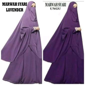 Pencarian Termurah baju muslim gamis syari set cadar marwah harga penawaran - Hanya Rp172.620
