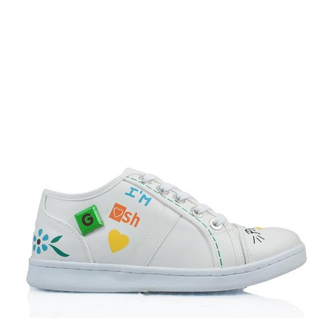Gosh Casual Fashion Sneakers 208 White