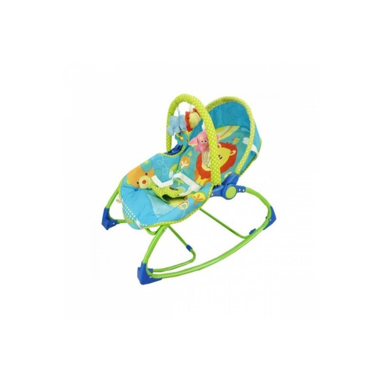 Bouncer Pliko Rocking Chair Hammock 3 Phases Lion Green