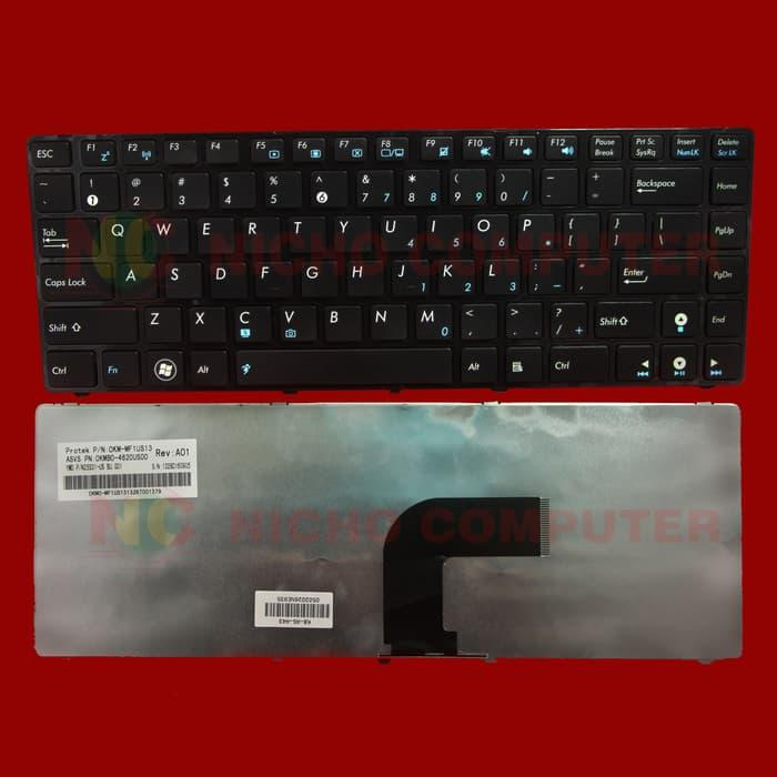 Best Seller!! Keyboard Asus A43S K43Sa X42J K43Sj K42J K43S Series (0502026) - ready stock