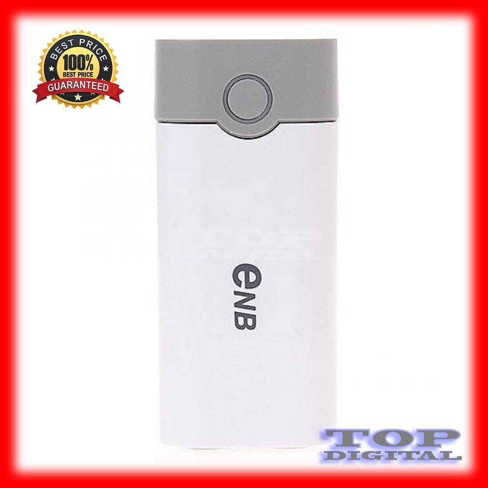 Power Bank Enb Exchangeable Cell Shell For 2pcs 18650 Putih Daftar Diy Case Console Powerbank 2x Casing Modul Kosongan Enclousure Pcb