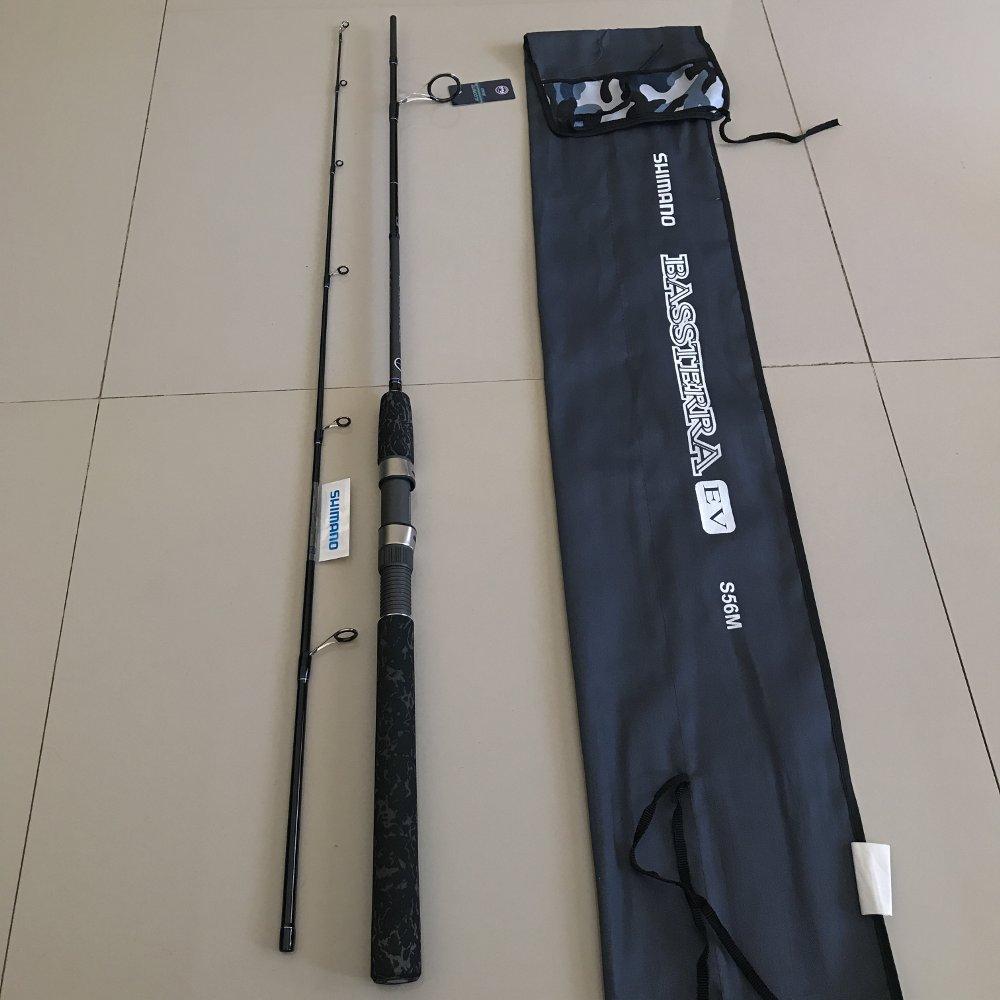 Joran Shimano Bassterra EV 165 cm -S56M TERBARU BOS PANCING zerya_fishing