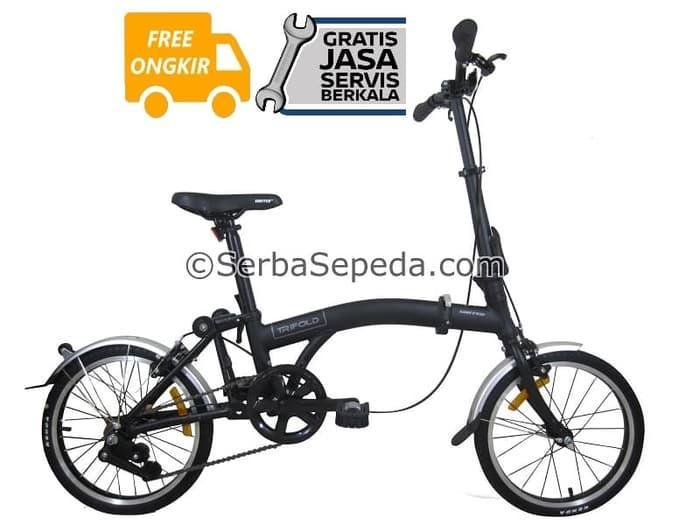 HARGA PROMO!!! United Sepeda Lipat 16 Trifold - GRATIS ONGKIR & PERAKITAN - RXxGDL