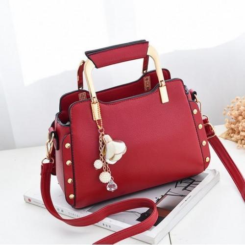 Tas Import Tas Batam Tas Fashion Tas Wanita Model pom pom High Quality Tas  Korea 90fae5305f