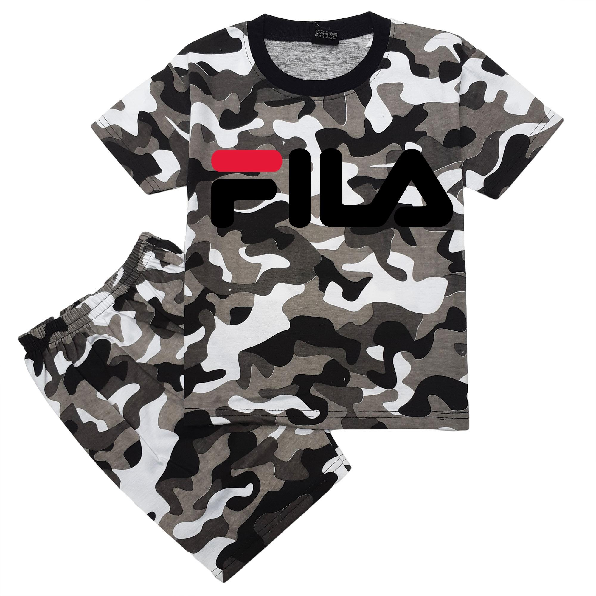 Hm Baju Setelan Anak Army Loreng By Hm Shopa Collection.