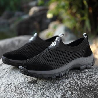 Cheapest Price EU39-46 Sepatu Olahraga Ukuran Besar Pria Berkualitas Tinggi  Sepatu Daki Gunung Super b1b925660c