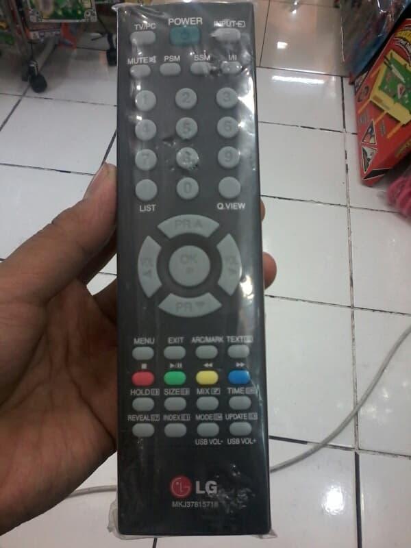remot tv merk LG lcd dan tabung free batrai berGARANSI