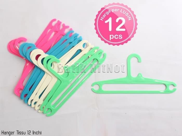 Produk Hanger Plastik Kecil Gantungan Baju Anak  - 12 Inchi