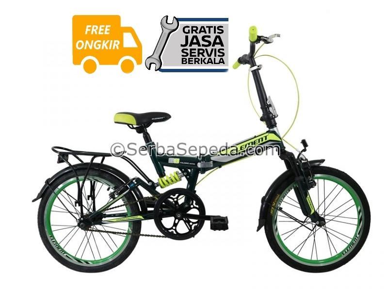 Element Sepeda Lipat 69 Single Speed 20 - GRATIS ONGKIR & PERAKITAN KHUSUS JABODETABEK