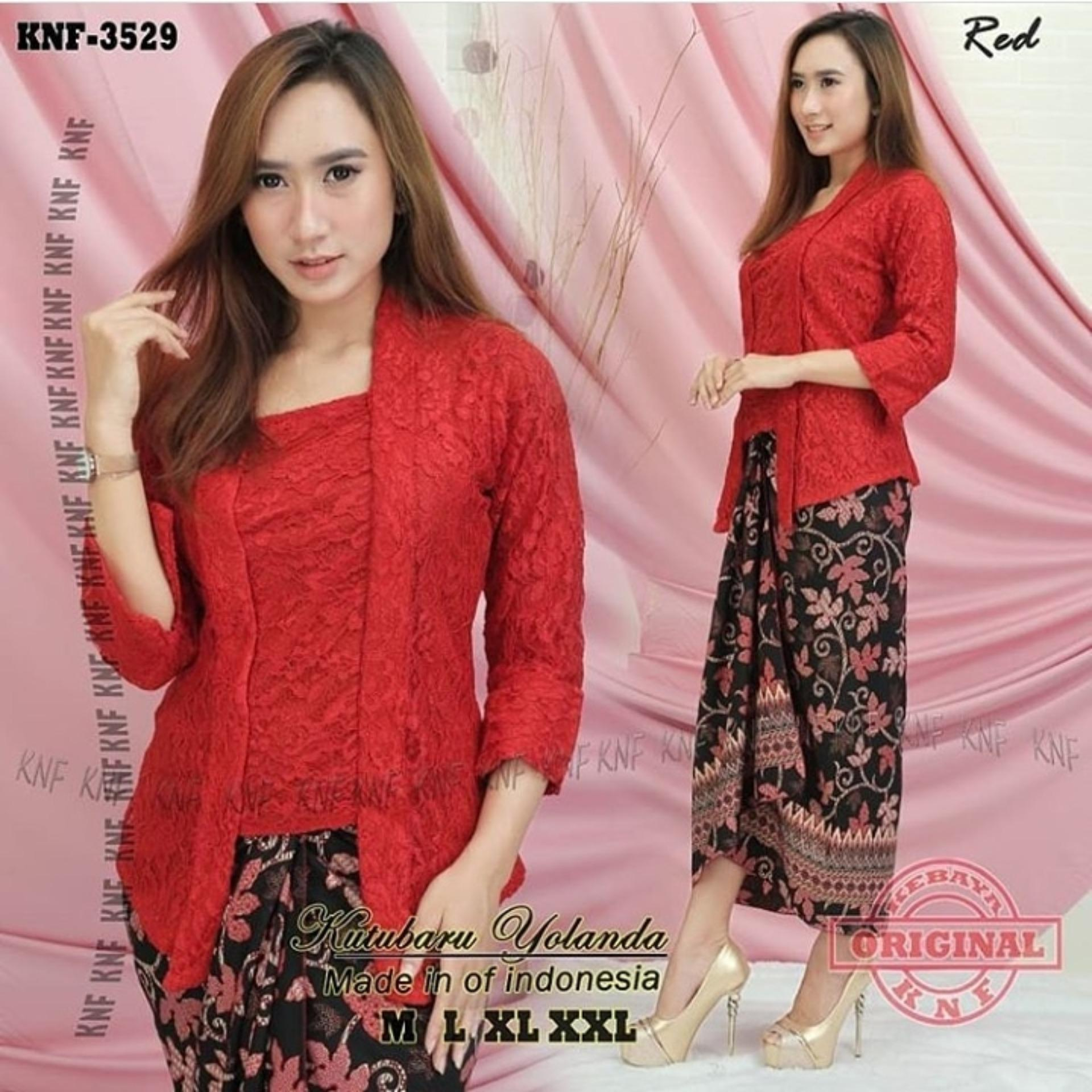 Satu Set Kebaya Kutubaru Brukat New Collection/Kebaya Modern/Kebaya Hits