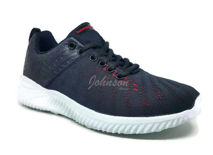Johnson Shoes   Sepatu Pria HOMYPED - ALPHA Hitam   Merah 100% ORIGINAL b1931d5d11
