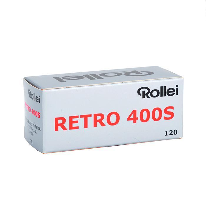ROLLEI pelindung layar 400S Retro Hitam dan Putih Produk Asli