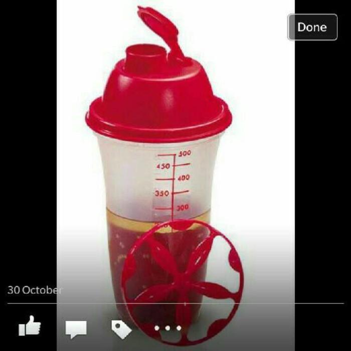Tupperware Quick Shaker Merah - Sale - Gnwktm