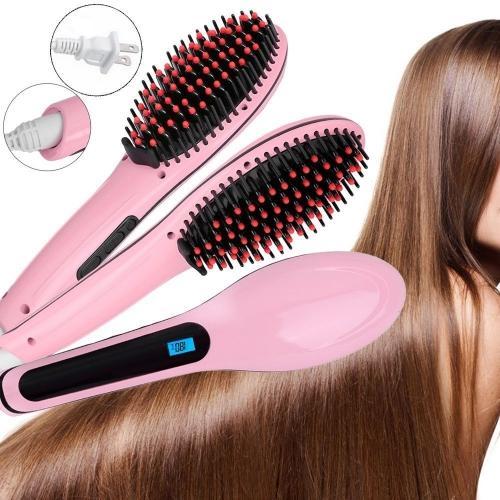 Sisir Elektrik Pelurus Rambut - Sisir Catok Rambut Elektrik Hair  Straightener HQT-906 6b97b9af4f