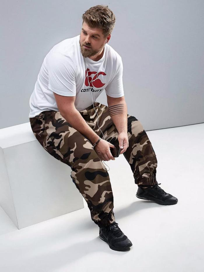 TONY JUMBO Celana Chino Jogger Fashion BIG SIZE Pria