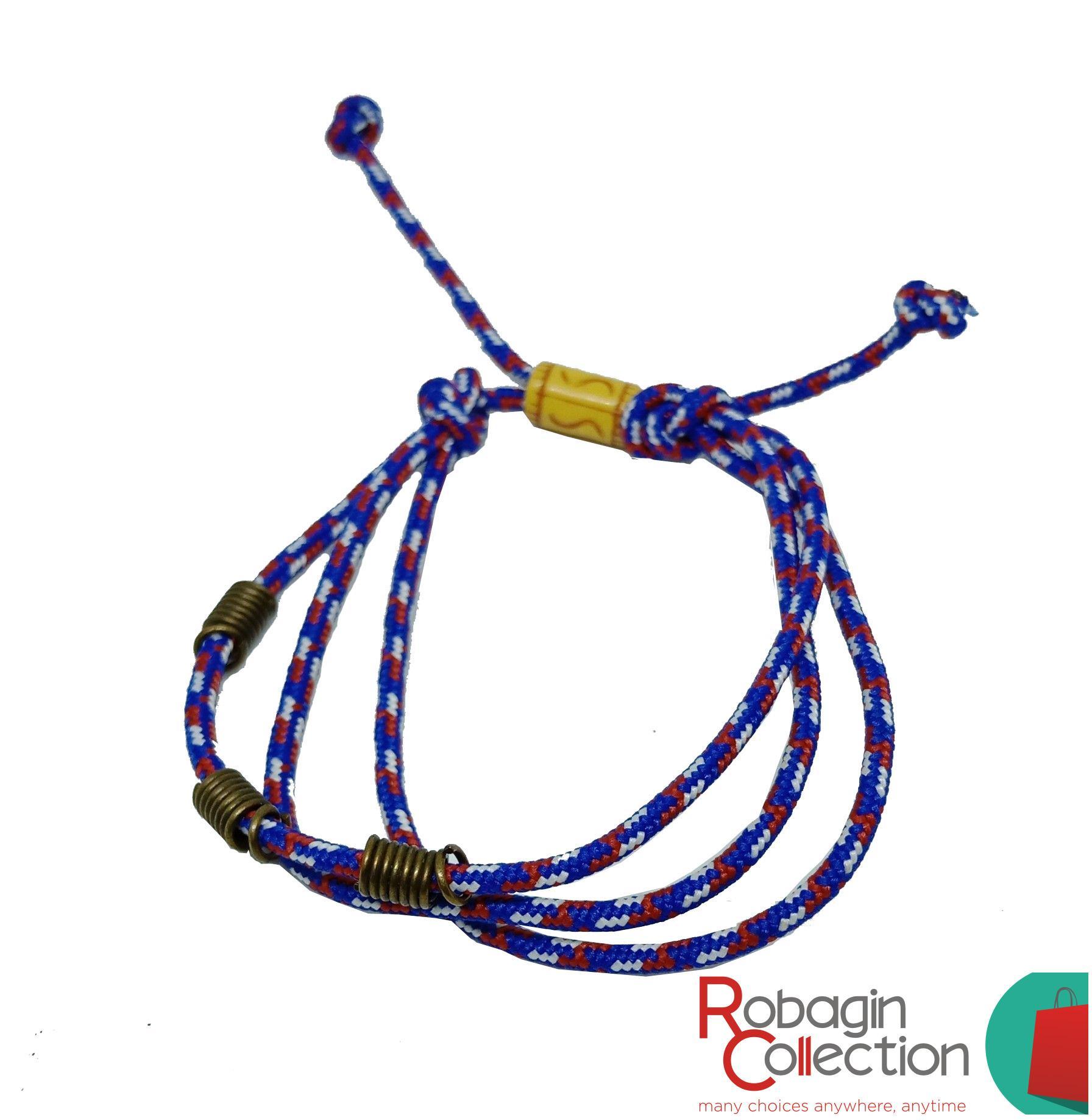 Robagin gelang tali warna warni Glp12
