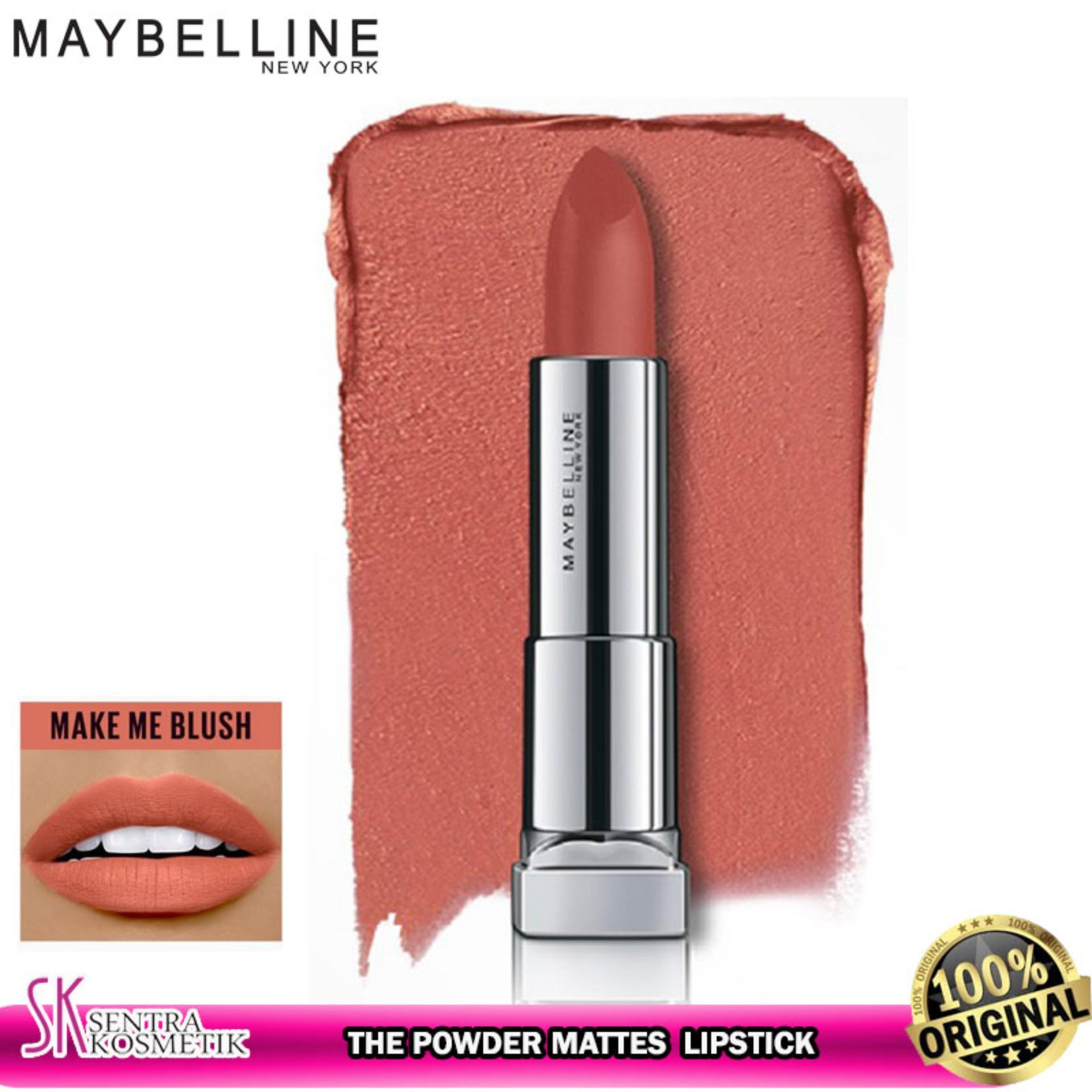 MAYBELLINE Color Sensational The Powder Mattes Lipstick - MAKE ME BLUSH