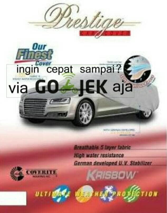 Promo    KRISBOW car cover /sarung mobil ukuran B - jazz yaris agya march dll    Original
