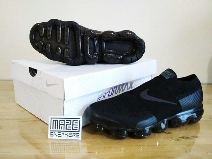 HARGA SPESIAL!!! Sneakers Casual / Olahraga Nike Air Max Vapormax (All Black) Logo