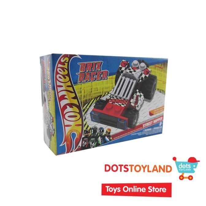 Emco Mini Brix Racer Hot Wheels - Street Hopper 8987 - Mainan Anak