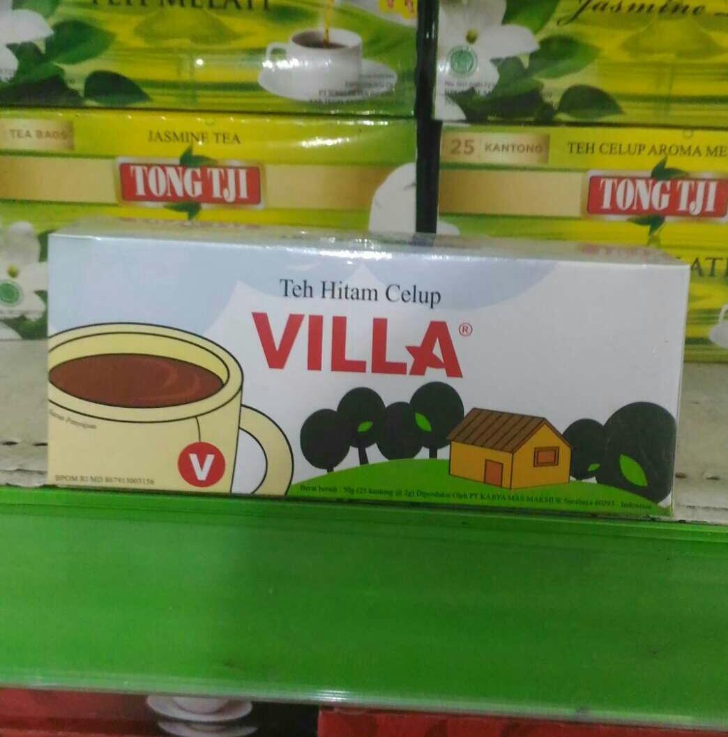 TEH VILLA ( isi 25 kantong ) 50 g