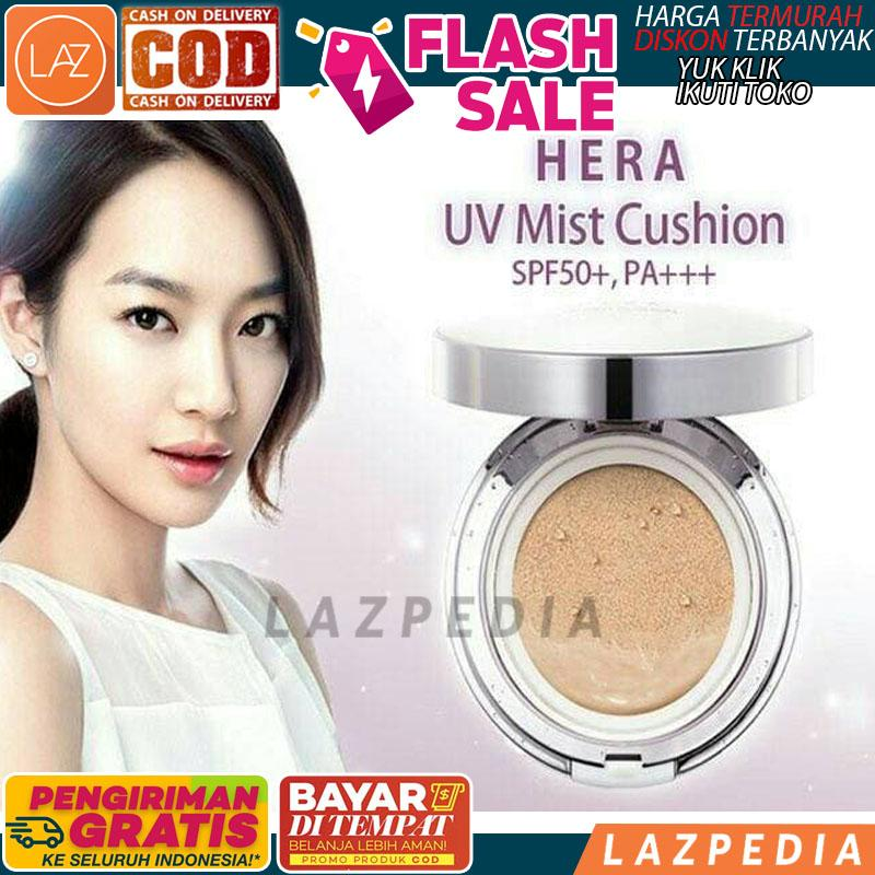 Laz COD - HERA UV MIST CUSHION SPF 50 + REFILL / BEDAK BASAH + FOUNDATION
