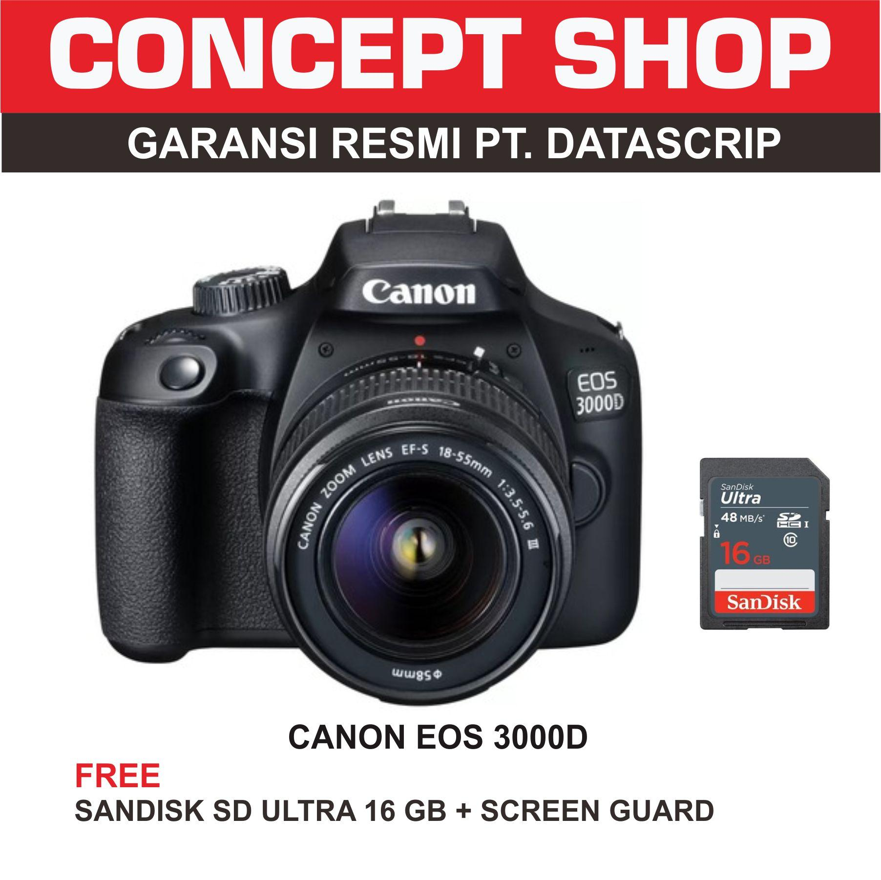 Kamera Prosumer Canon Terbaik Powershot Sx430 Is Eos 3000d Kit 18 55mm F35 56 Iii 3000 D