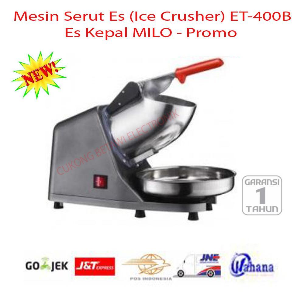 Mesin Serut Es (Ice Crusher) ET-400B Ice Kepal Milo-Promo