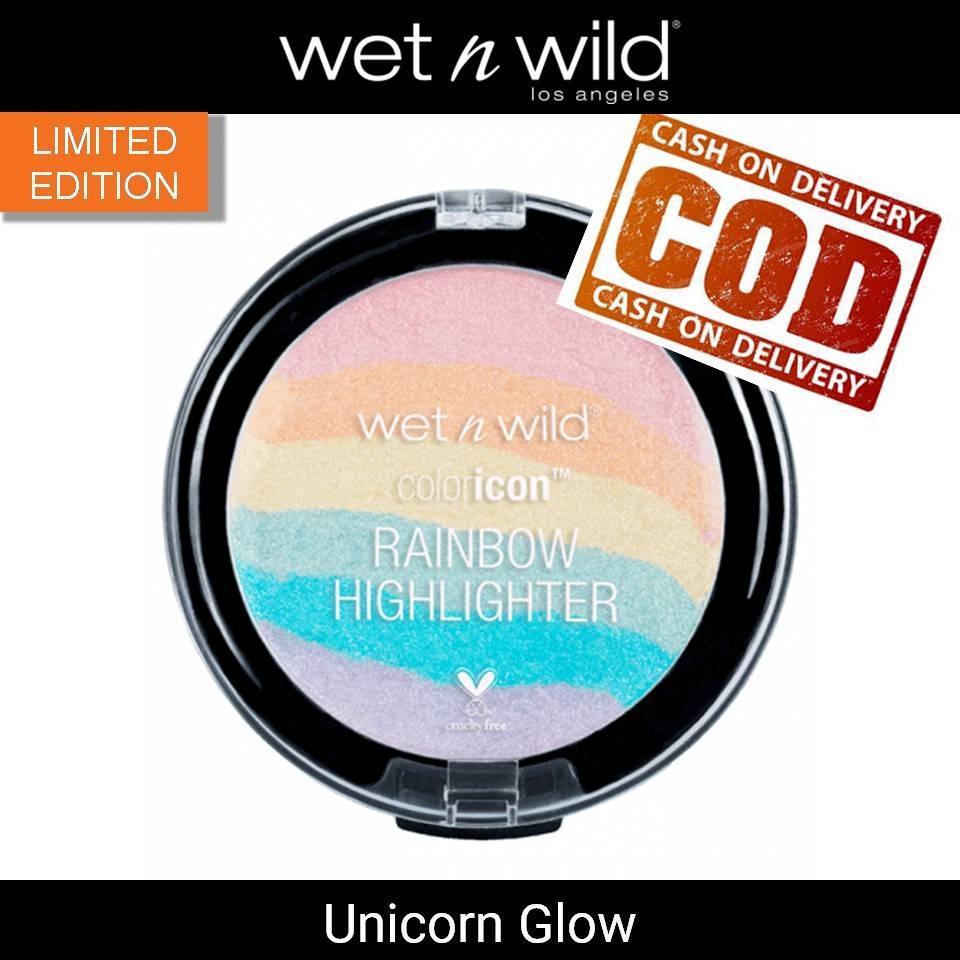 Wet n Wild Unicorn Glow Color Icon Rainbow Highlighter - @Lovablemart Bisa COD Bayar di Tempat