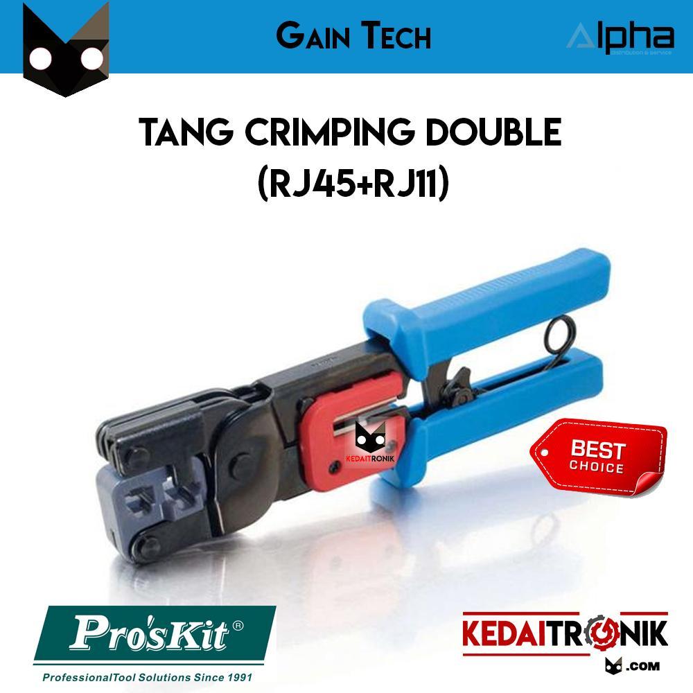 Buy Sell Cheapest Myzone Rj45 Rj11 Best Quality Product Deals Perkakas Nankai Tang Crimping Rj 45 Gaintech Double Proskit Pro Skit Utp Lan
