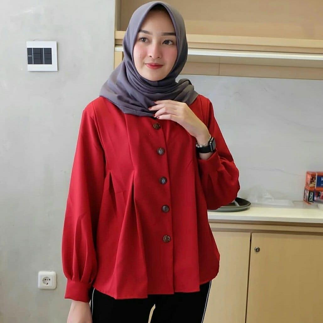 Baju Wanita Sasmita – Baju Gamis Wanita – Tunik Wanita – Baju Tunik Wanita Terbaru 2018 – Gamis Wanita – Fashion Muslim – Alx