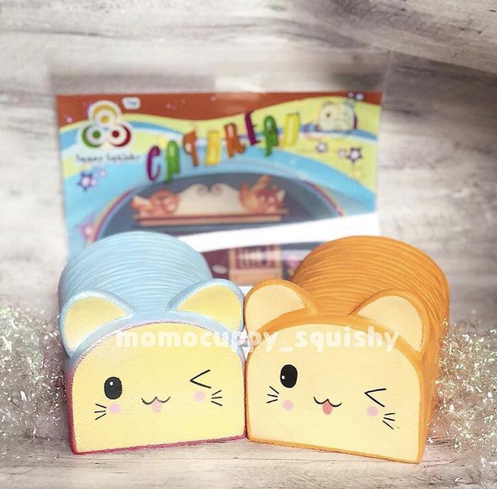 Squishy licensed jumbo cat bread by sunny squishy (squishy roti kucing