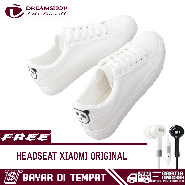 Harga Jual Kabel Cable Data 3 Meter Model Tali Sepatu Setrika Micro Usb Dream Kets Sneakers Kasual Motif Panda Free Headseat Xiaomi 35mm