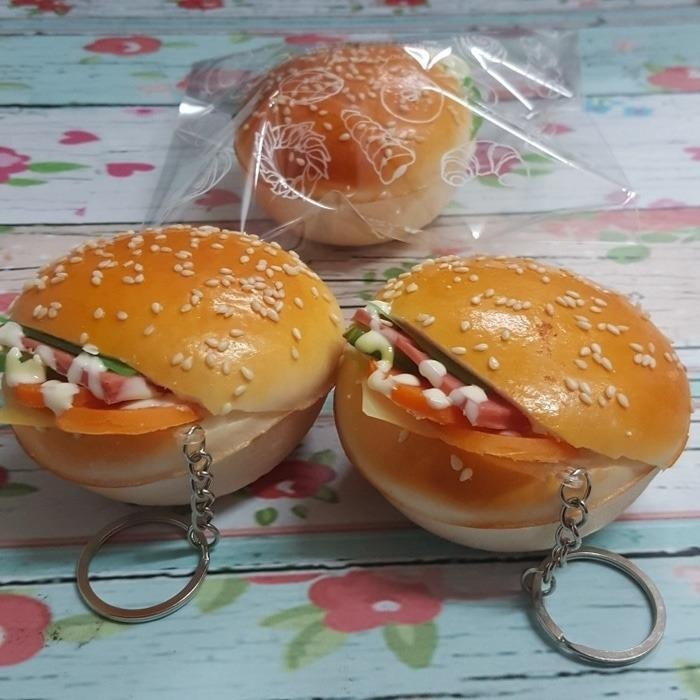 Squishy Murah Beef Burger Mayonaise