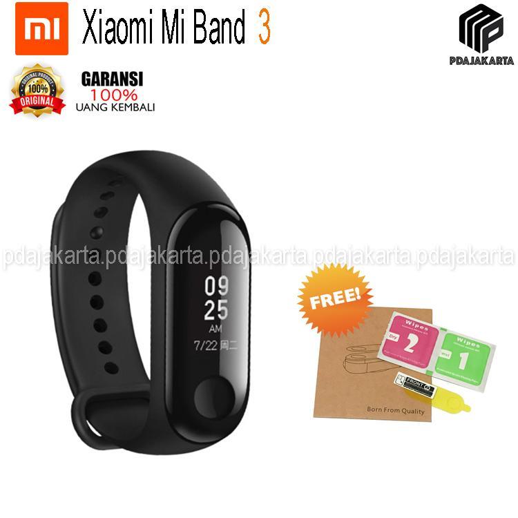 Xiaomi Mi Band 3 Smart Band Original + Free Screen Guard