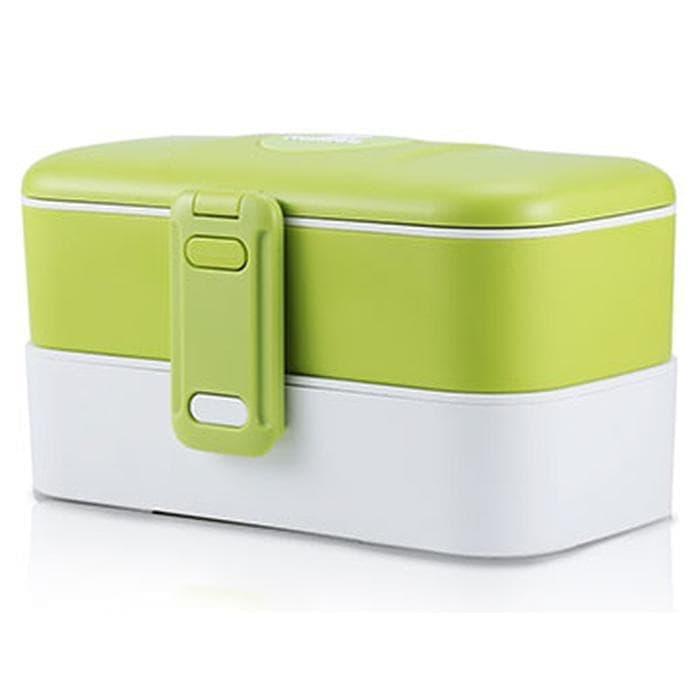 promo Remax Kotak Makan 2 Tingkat - RT-BT01 - Green olx