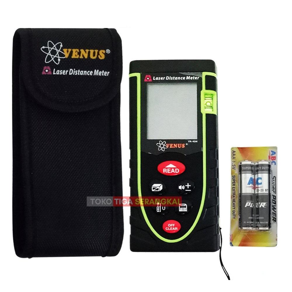 Harga Jual S F Digital Step Pedometer Walking Calorie Counter Laser Distance Meter Alat Pengukur Jarak 100 M Venus Meteran Vn 40m