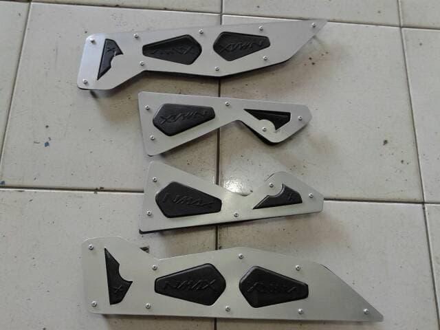 Aksesoris Border bordes karpet step pijakan alas kaki injakan NMAX 2DP / Interior Mobil