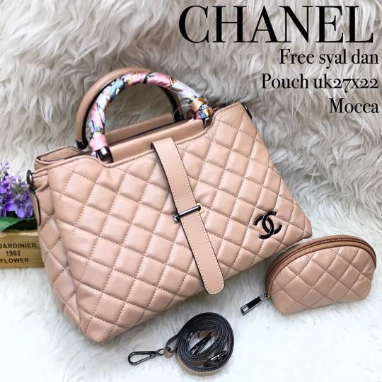 Tas Chanel Lidah 3 Ruang(Tas Import-Fashion Wanita)