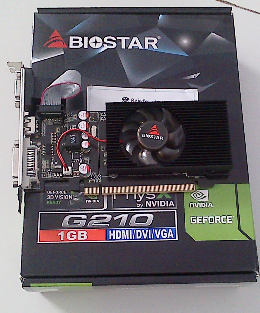 VGA CARD BIOSTAR GT210 1GB 64BIT DDR3