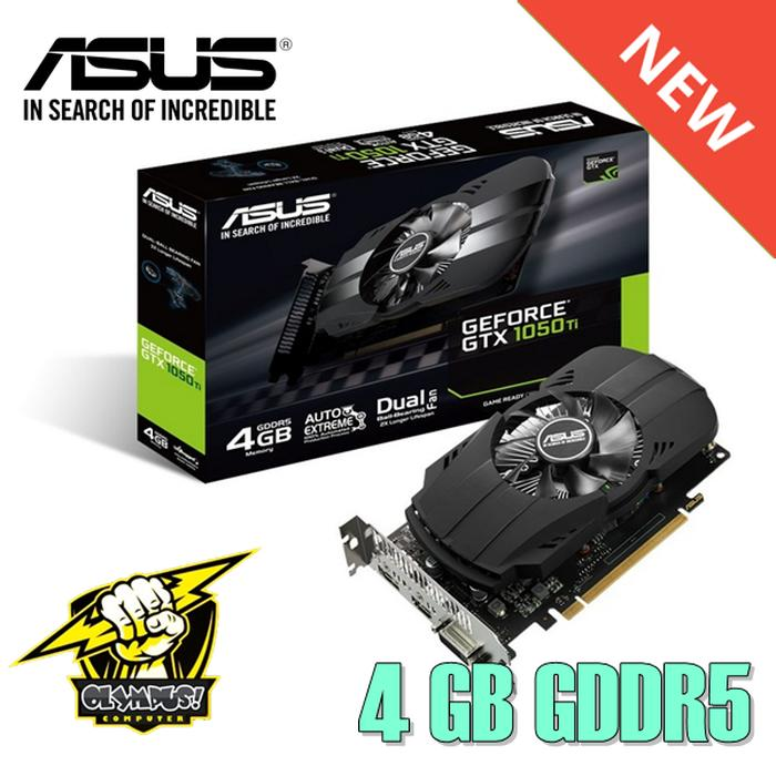 VGA Gaming ASUS Phoenix GeForce® GTX 1050 Ti 4GB GDDR5 - VGA Card
