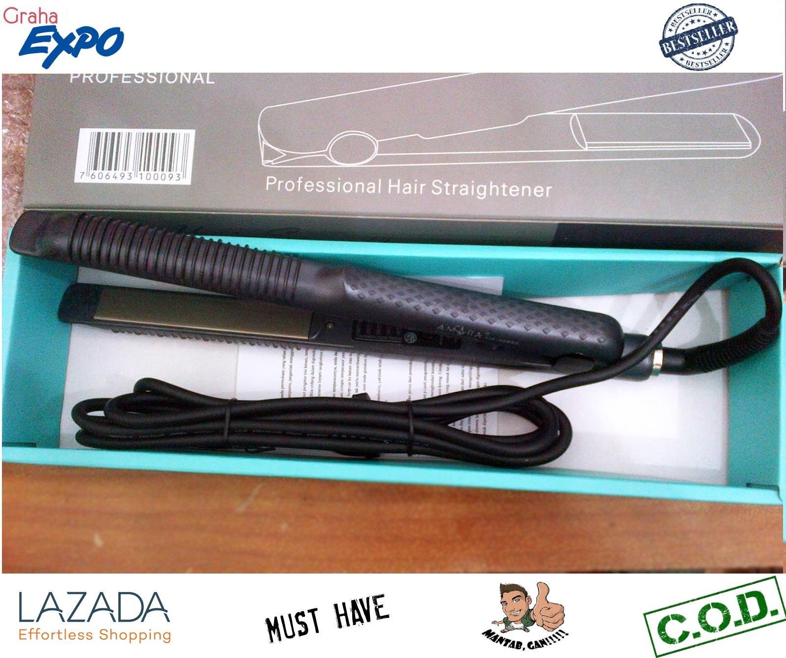 Perlengkapan Hair Styler Terbaik Catokan 3in1 Nhc 8890 Amara Catok Lurus Dan Keriting 2 In 1 Straightener