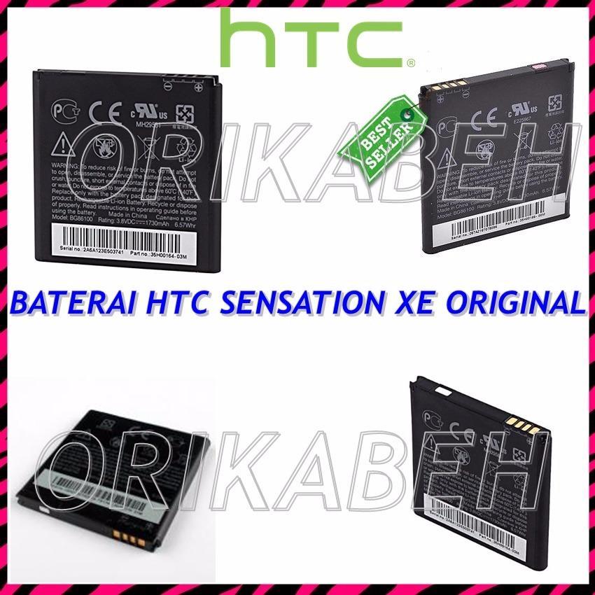 HTC Baterai / Battery HTC G18 / Sensation XE BG86100 Original - Kapasitas 1730mAh ( orikabeh )