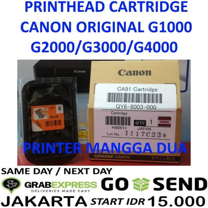 SALE - PRINT HEAD CANON G1000 G2000 G3000 G4000 CA91 BLACK CARTRIDGE Original