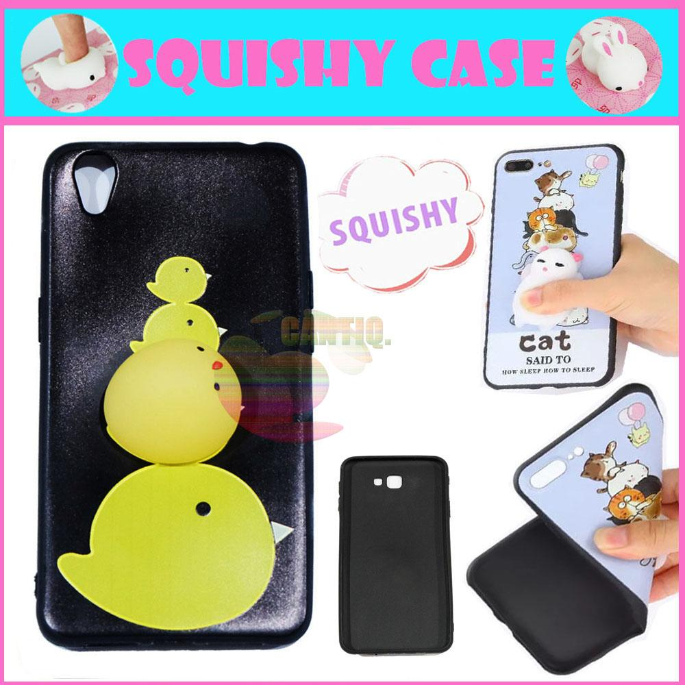 Icantiq Squishy Case Oppo Neo 9 A37 Squishy Chicken Little / Silikon 3D Squeeze Oppo A37
