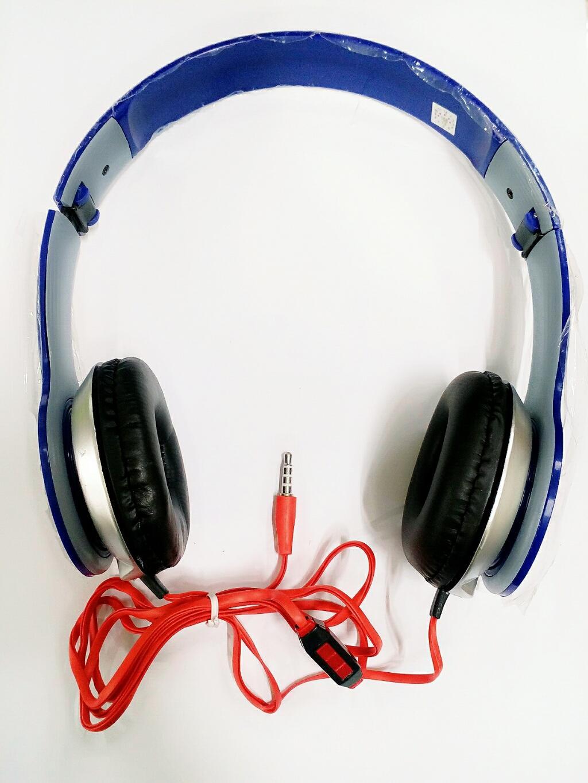 Pokeshop Stereo Mega Bass Headset Earphone Zipper Metalic Gratis Edifier Earset H185p Biru Headphone Compatible For Universal Handsfree Super Random